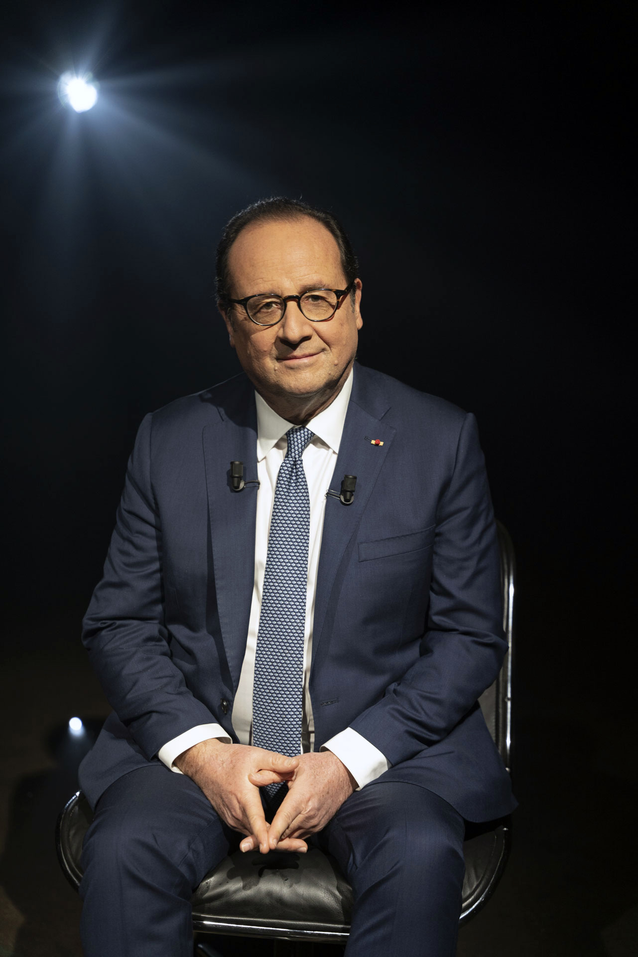 Portrait François Hollande Photographe Portraits corporate Paris, Maurine Tric,